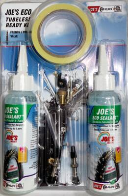 Bezdušová sada JOE´s Eco - Tubeless Ready kit