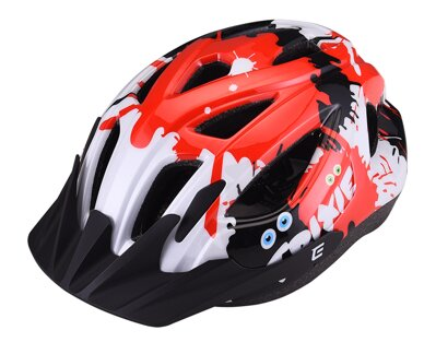 Prilba Extend TRIXIE mystic red-black XS/S (48-52 cm), shine