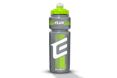 Fľaša Extend FLUX, 750ml smoke black-green